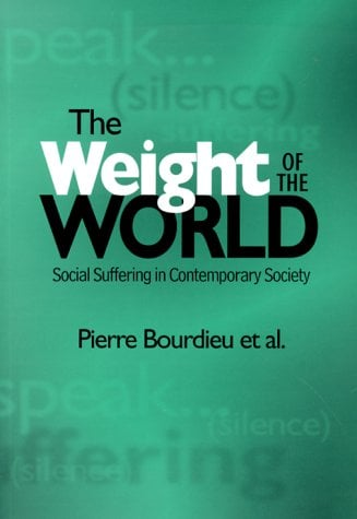 The Weight of the World: Social Suffering in Contemporary Societies 9780804738453