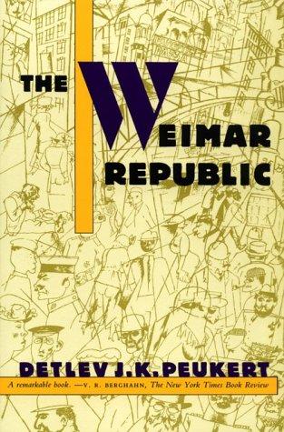 The Weimar Republic 9780809015566