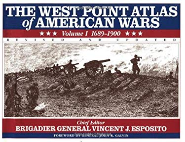 The West Point Atlas of American Wars 9780805033915