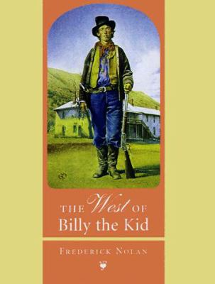 The West of Billy the Kid 9780806130828