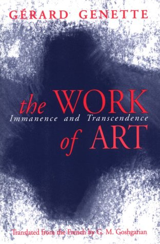 The Work of Art: Immanence and Transcendence 9780801482724