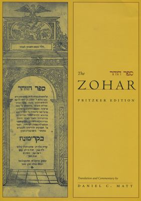 The Zohar: Pritzker Edition 9780804752107