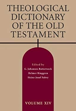 Theological Dictionary of the Old Testament 9780802823458