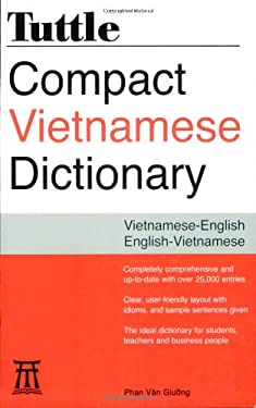 Tuttle Compact Vietnamese Dictionary 9780804838719