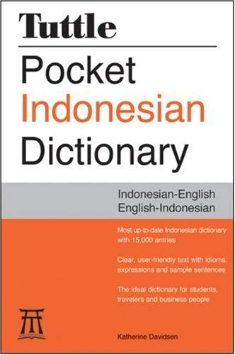 Tuttle Pocket Indonesian Dictionary: Indonesian-English/English-Indonesian 9780804837767