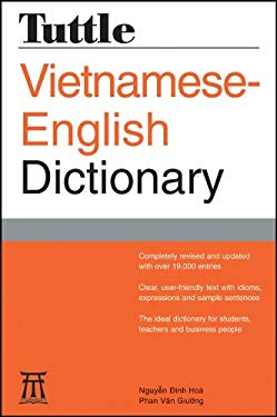 Tuttle Vietnamese-English Dictionary 9780804837439