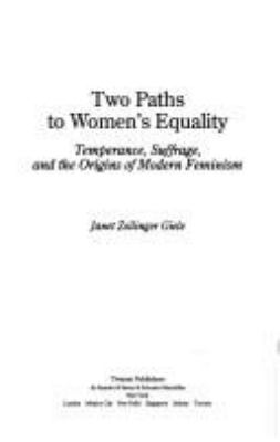 Social Movements Past and Present Series: Two Paths to Women's Equality (Paperback) 9780805745238