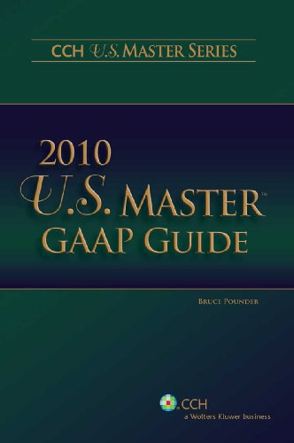 U.S. Master GAAP Guide 9780808021087