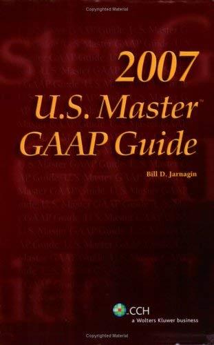 U.S. Master GAAP Guide 9780808090816