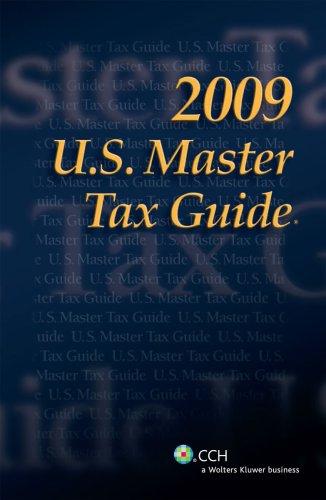 U.S. Master Tax Guide 9780808019039