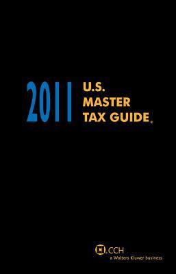 U.S. Master Tax Guide - Hardbound, 2011 9780808024514