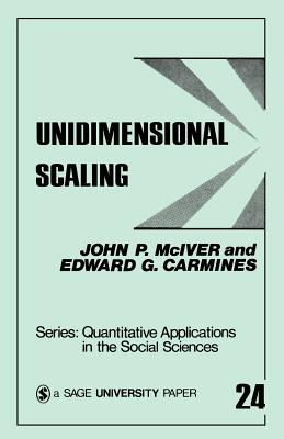 Unidimensional Scaling 9780803917361