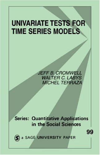 Univariate Tests for Time Series Models 9780803949911