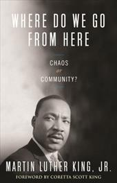 Where Do We Go from Here: Chaos or Community? 3327259