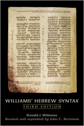 Williams' Hebrew Syntax