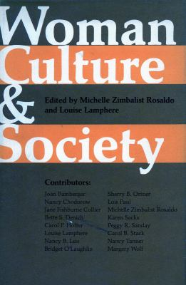 Woman, Culture, and Society 9780804708500