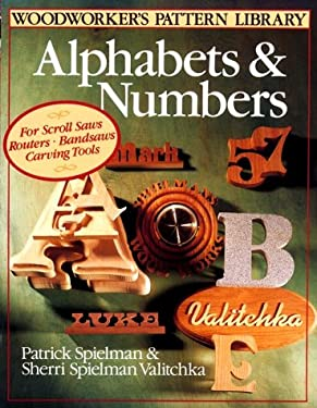 Woodworker's Pattern Library: Alphabets & Numbers 9780806904870