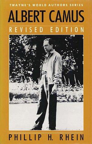 World Authors Series: Albert Camus, Revised Edition 9780805782530