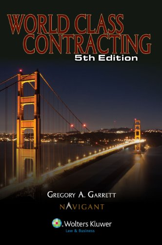 World Class Contracting, Fifth Edition 9780808025689