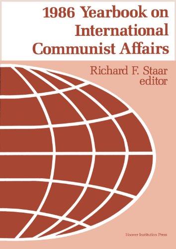 1986 Yearbook on Communist Affairs 9780817983215