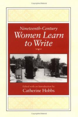 19th Cen Women Learn-Write 9780813916057