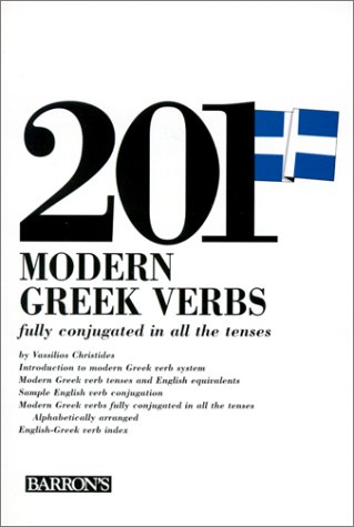 201 Modern Greek Verbs 9780812004755