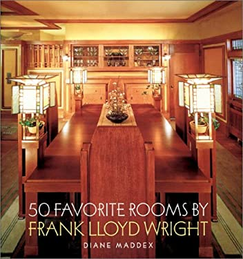 50 Favorite Rooms by Frank Lloyd Wright 9780810982116