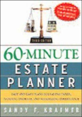 60-Minute Estate Planner: Unique Graphics Simplify Family Security Planning 9780814473054