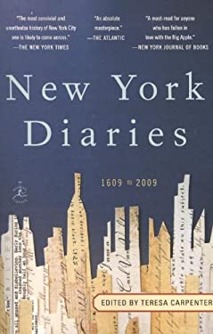 New York Diaries: 1609 to 2009 9780812974256