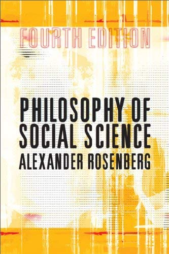 Philosophy of Social Science 9780813345925