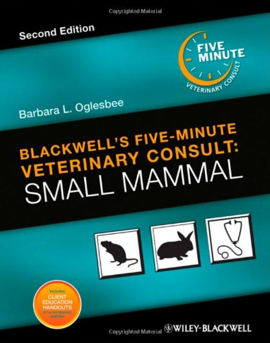 Blackwells Five-Minute Veterinary Consult: Small Mammal - 2nd Edition