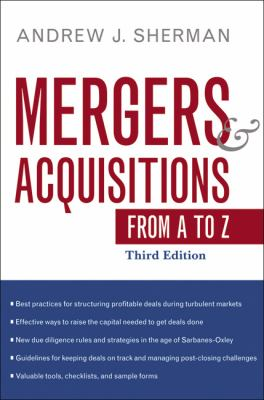 Mergers and Acquisitions from A to Z 9780814413838
