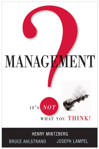 Management? It's Not What You Think! 9780814416846