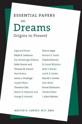 Essential Papers on Dreams 9780814750629