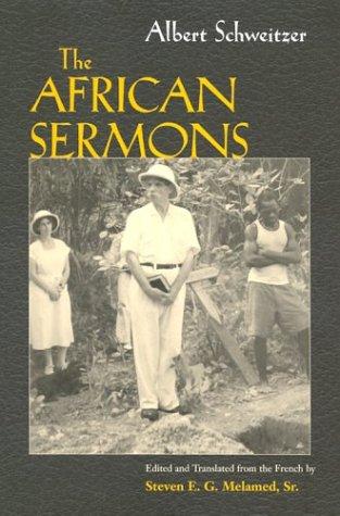 Albert Schweitzer's African Sermons 9780815629207