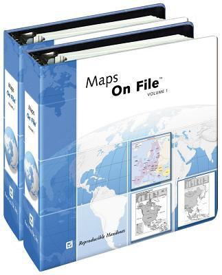 Maps on File(r), 2012 Edition, 2-Volume Set 9780816084784