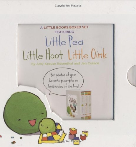 A Little Books Boxed Set Featuring Little Pea, Little Hoot, Little Oink 9780811870542