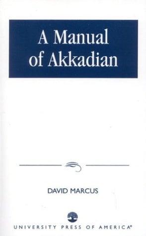 A Manual of Akkadian