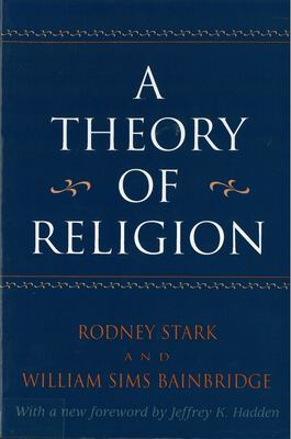 A Theory of Religion 9780813523309