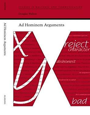 Ad Hominem Arguments 9780817309220