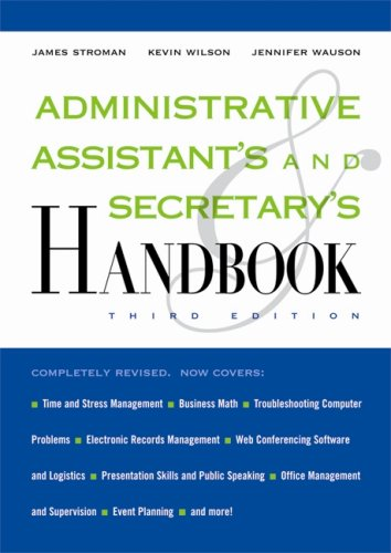 Administrative Assistant's and Secretary's Handbook 9780814409138