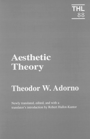 Aesthetic Theory 9780816618002