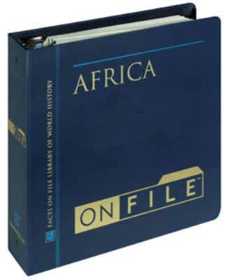 Africa on File& #153; 9780816032884