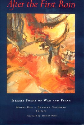 After the First Rain: Israeli Poems on War and Peace 9780815605249