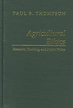 Agricultural Ethics 9780813828060