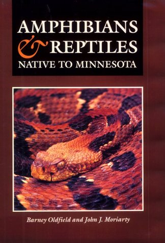 Amphibians and Reptiles Native to Minnesota 9780816623846