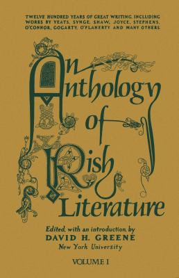 An Anthology of Irish Literature (Vol. 1) 9780814730058
