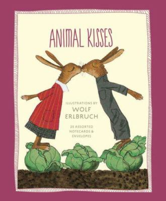 Animal Kisses Notecards