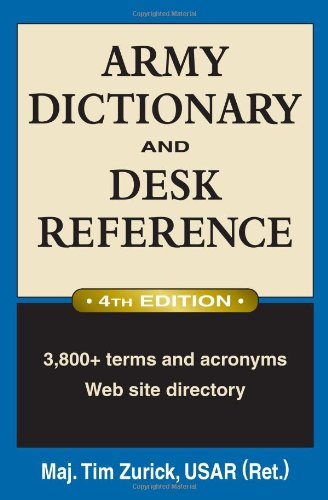 Army Dictionary and Desk Reference 9780811735711
