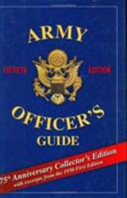 Army Officer's Guide 9780811701464